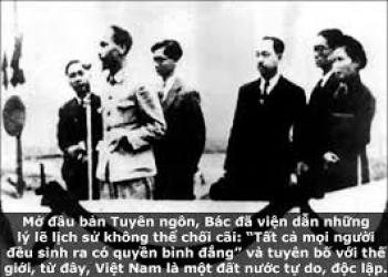 Toàn cảnh Bác đọc tuyên ngôn sáng 2-9-1945 - Bản đầy đủ và trung thực nhất